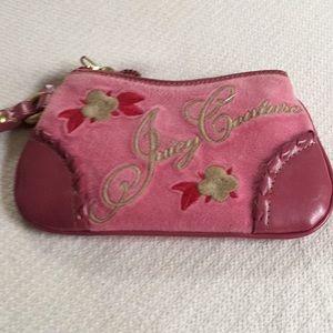 Vintage Juicy Couture. Pink wristlet 👛👛👛👛👛